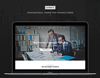 Experts - Professional Theme for Finance Firms