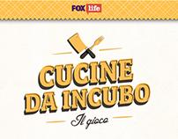 Cucine da incubo – Game Design, FOX Life
