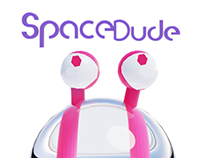 Space Dude - 3D Character Illustration