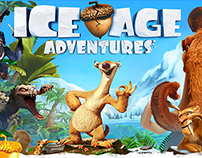 UX Case Study - Ice Age Adventures : Events Design