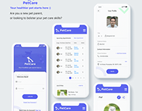 UI Kit Design For Pet Care App