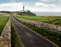 Lighthouse in Ireland
