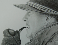 The Friend of Mine (Graphite pencil on paper)