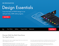 Design Essentials Marketing Page