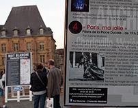 """""""Paris, ma jolie"""", expo plein air à la Nuit Blanche"""