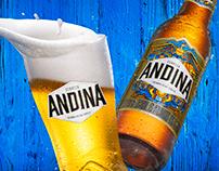 LANZAMIENTO CERVEZA ANDINA / COLOMBIA