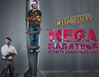 Mythbusters Mega Marathon Graphics Package