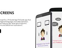 Help Screens Concept