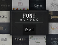 26in1 Legendary Font Bundle