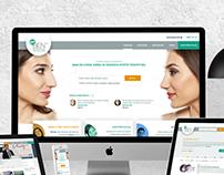 YeniBen Esthetic Portal UX/UI Design