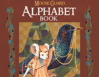 Mouse Guard Alphabet Book