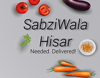 SabziWalaHisar App UI