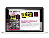Feminist Punk Website