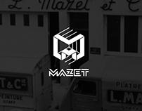 MAZET Bâtiment / Branding