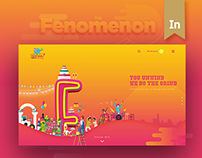 The Fenomenon - Website Design