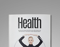 (Health) Indesign Magazine Template