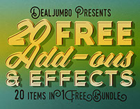 Dealjumbo Free Bundle vol.4 – 20 Add-ons & Effects