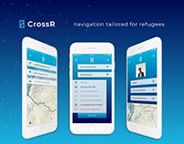 CrossR │Navigation app tailored for refugees