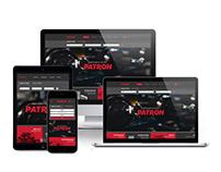 Адаптивный сайт производителя автозапчастей Patron