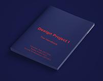 Design Project I - The Handbook (Editorial Design)