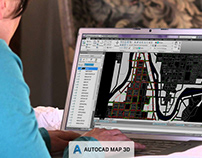 Cursos de AutoCAD Map 3D para empresas