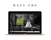 Raul Cos Photography UX/UI