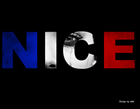 Tribute to the Nice victims and families