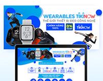 Tiki - Wearables Tiki Now Landing page