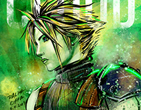 IPAD DRAWING: CLOUD STRIFE (FINAL FANTASY VII REMAKE)