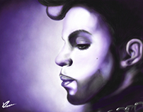 Prince in purple