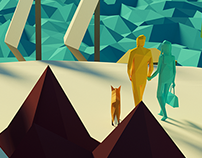 Low Poly Couple