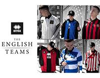 The English Teams - By Erreà