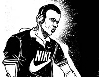 Illustrations for NIKE Sport Wear Argentina
