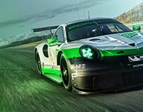 Porsche 911 RSR green pack*