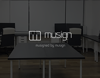 work space of musign