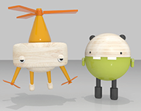 Product visualization, toy design