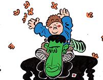 el niño y el monstruo