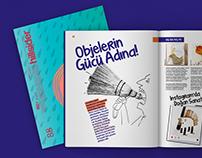 Hillsider Magazine Issue #88/ Page Design
