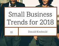 Small Business Trends for 2018