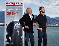 Richard Branson in Vancouver
