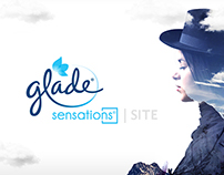 Glade Sensations Microsite
