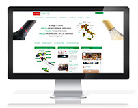 Vinolibero Website, wordpress