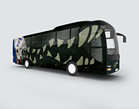2017 Gator Bus Wrap