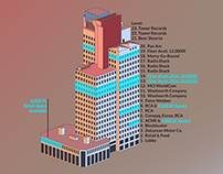 Dimetric Stacking Plan Study of 103 Colmore Row
