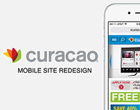 Curacao Mobile Site Redesign