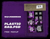 plastic bag.psd / free mockup