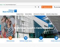 Web Clínica Bupa Santiago
