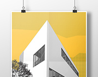 Architecture poster #1 (vector) arch_it sport complex