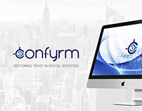 Confyrm Identity Campaign & Website