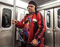 Blind woman, NY, 2013